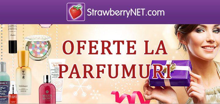 Oferte StrawberryNET – promotii la parfumuri si cosmetice