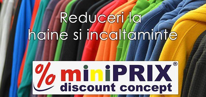 Oferte Miniprix online – promotii la haine, pantofi si accesorii