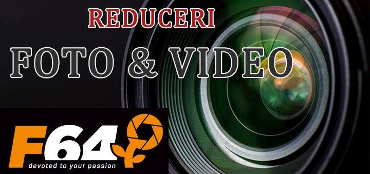 Reduceri F64.ro – promotii la camere foto, obiective, echipamente si accesorii