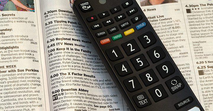 Televizoarele au evoluat, nu si telecomenzile
