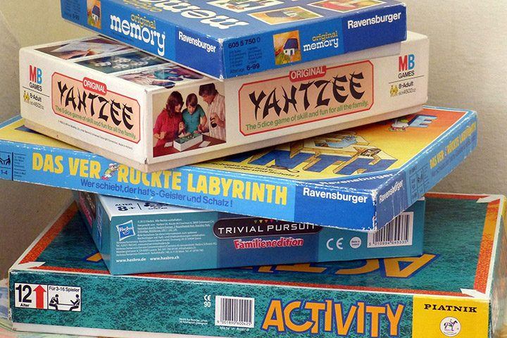 Jocuri de Societate (board games)