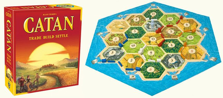 Colonistii din Catan (Settlers of Catan)