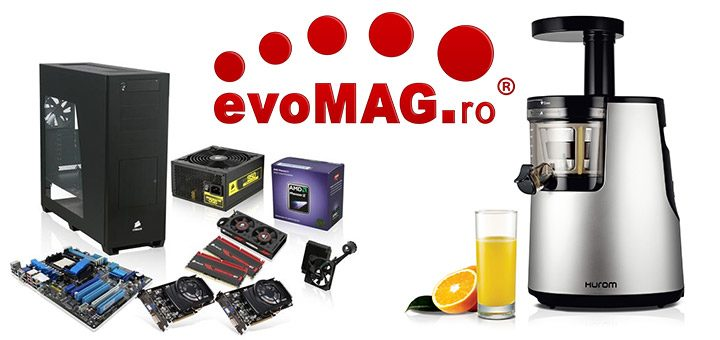 evoMAG magazin online electronice si electrocasnice