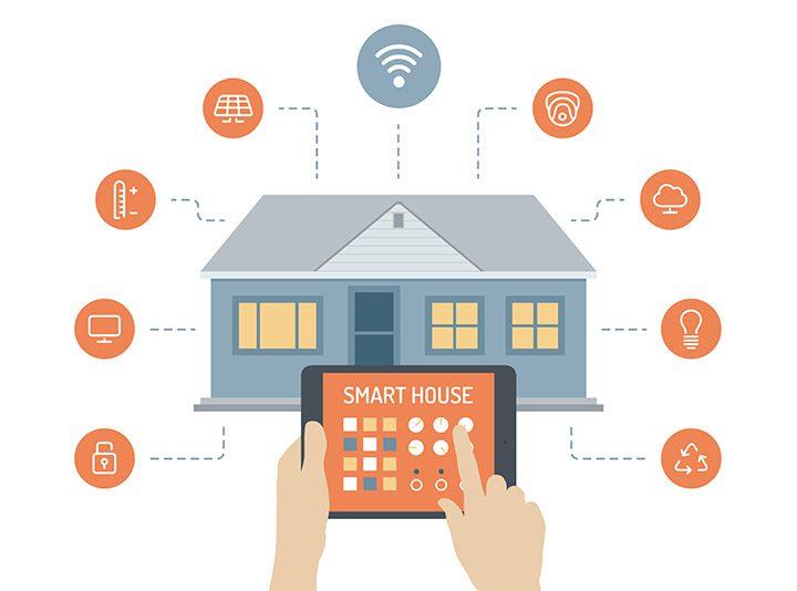 casa inteligenta locuinta automatizata
