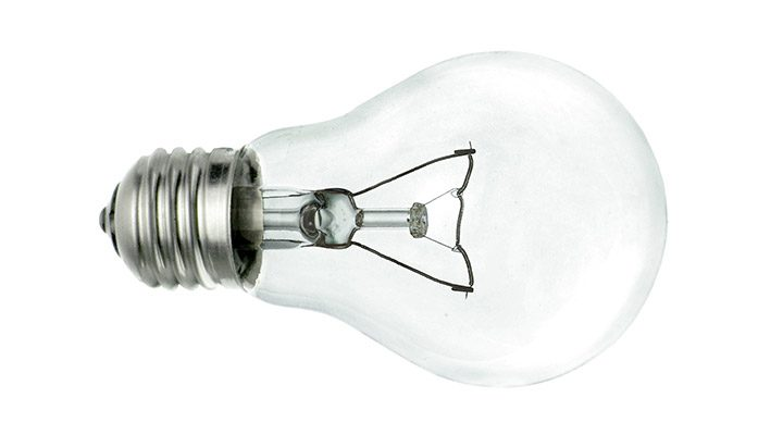 Bec incandescent cu filament