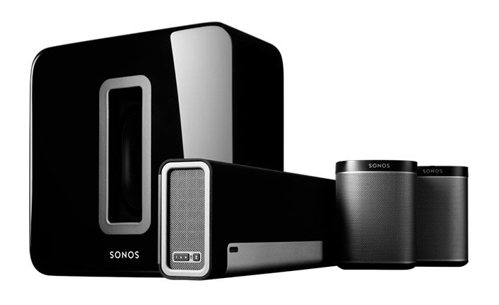 Sistem audio portabil pentru apartament Sonos