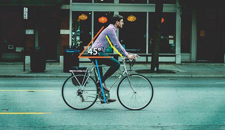 pozitia corecta pe bicicleta