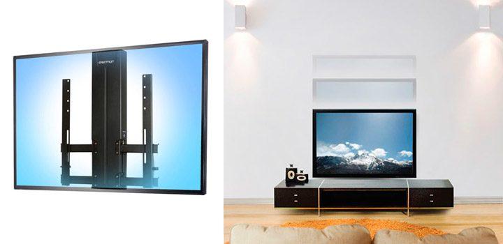 Suport tv de perete cu reglarea inaltimii