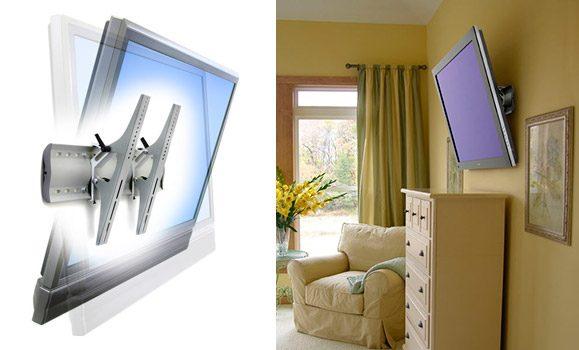 Suport tv perete cu reglarea inclinarii (tilt)