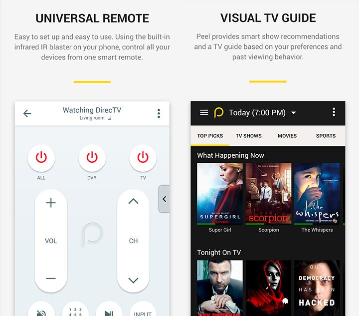 ghid tv aplicatie android telecomanda universala