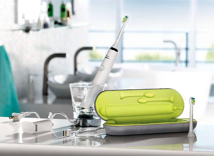 periuta de dinti electrica si accesorii