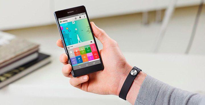 aplicatie lifelog bratara fitness sony smartband