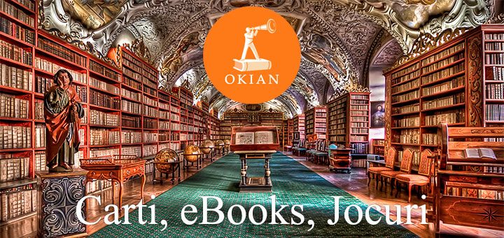 Oferte Okian: librarie online cu carti, eBook-uri si jocuri