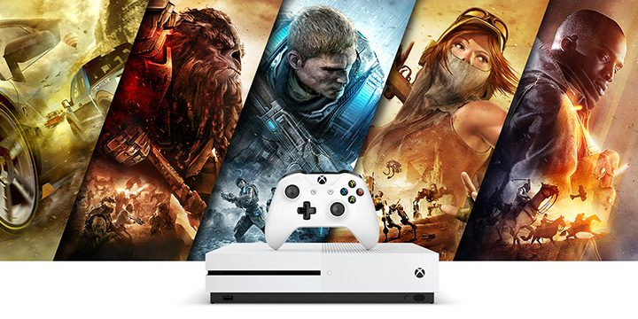 consola 4k xbox one s