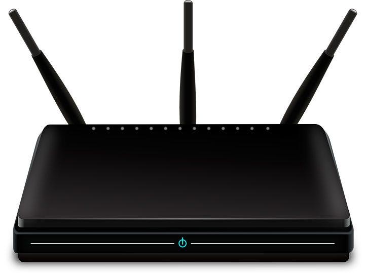 router wireless cu trei antene
