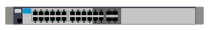 switch de retea cu hub multi port