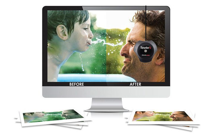 colorimetru calibrare imagine monitor