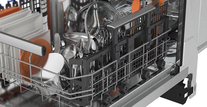 masina de spalat vase - suporturi extra