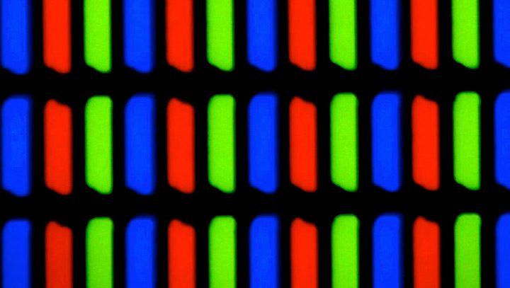 matrice LCD subpixeli RGB