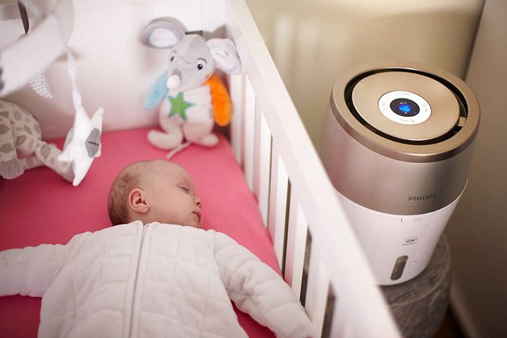 umidificator de aer pentru bebelusi