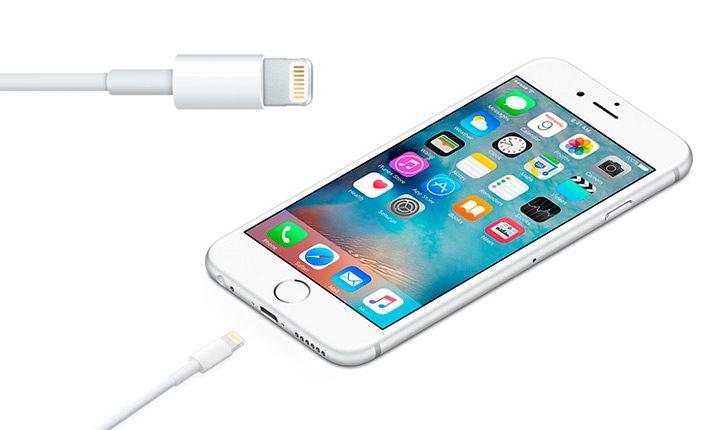 cablu cu conector Apple Lightning