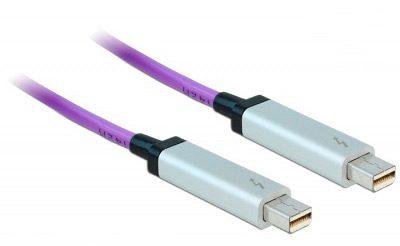 cablu thunderbolt pe conector miniDisplayPort