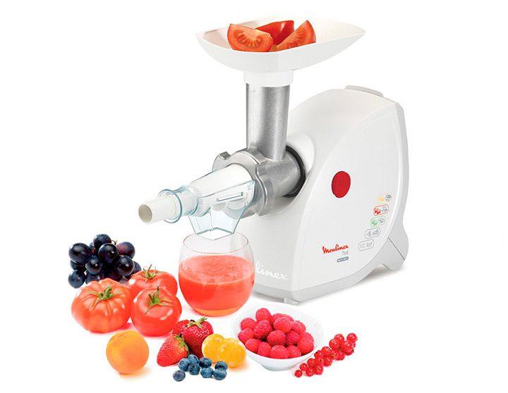 masina de tocat cu functie stocator de fructe