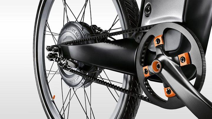 motorul electric care ajuta ciclistul
