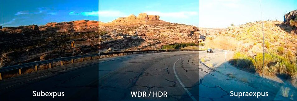 WDR HDR wide-high dynamic range