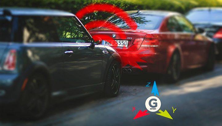 senzor G pentru detectarea accidentelor rutiere