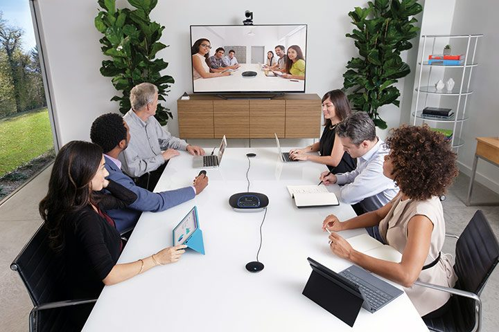 videoconferinta cu webcam