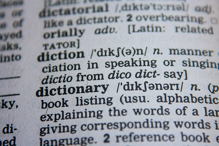 dictionar explicativ lingvistic
