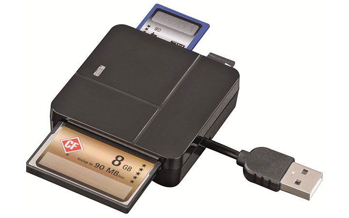cititor de carduri cu adaptor USB