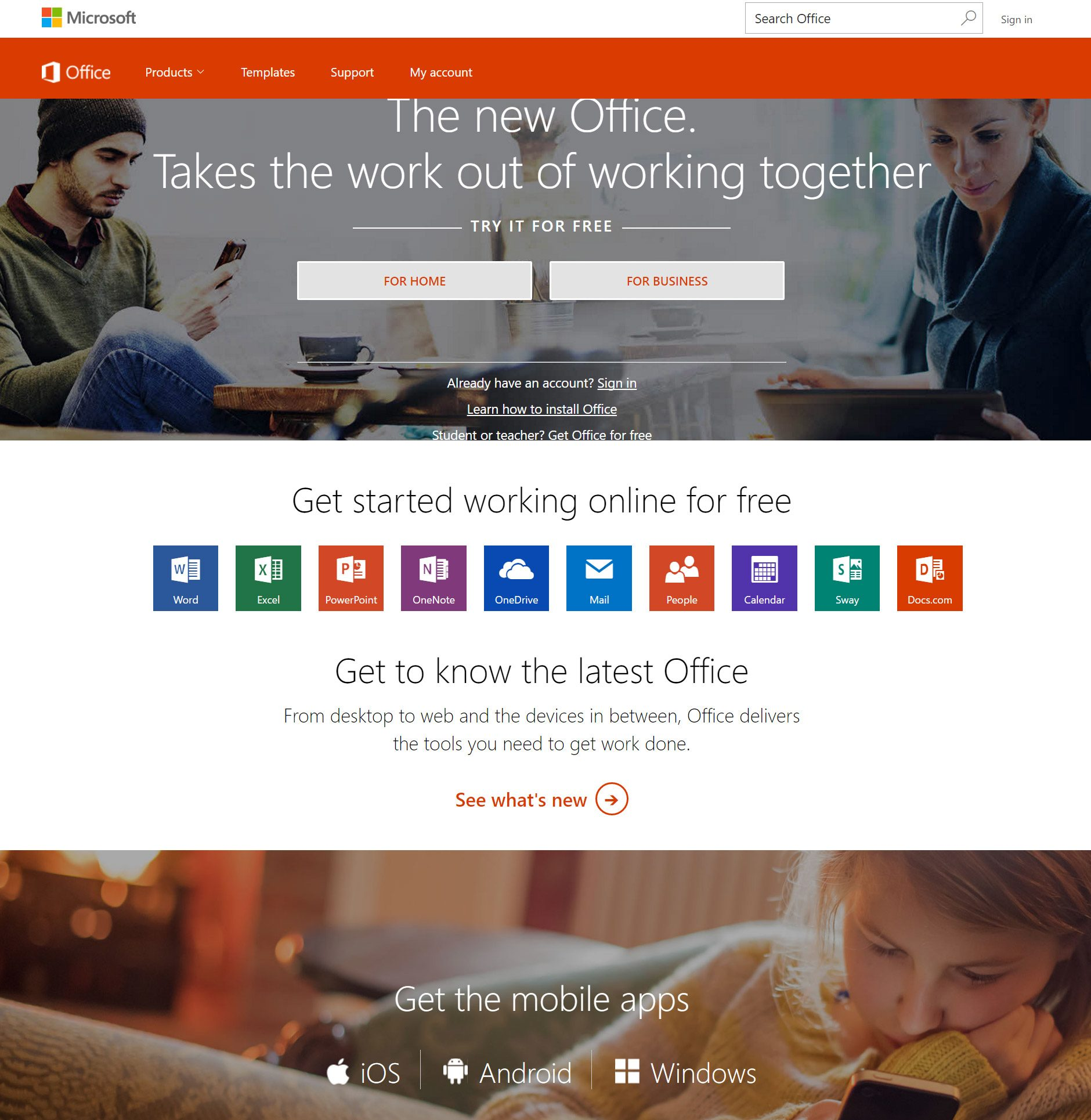 Microsof Office Online