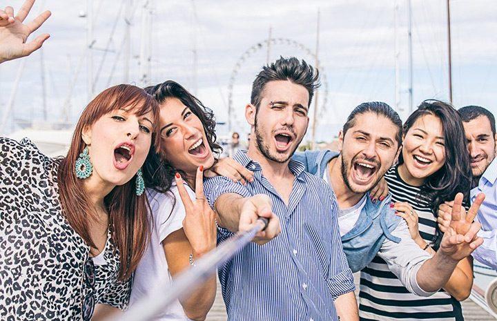 selfie de grup
