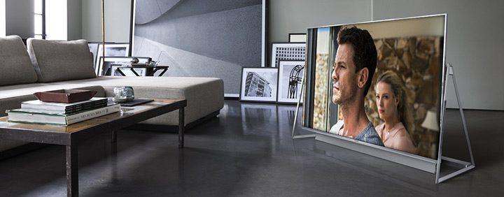 televizor uhd cu design modern