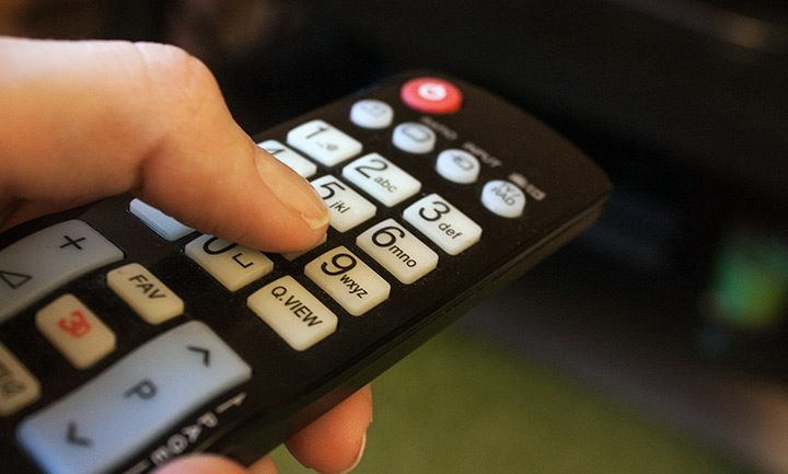telecomanda pentru televizor