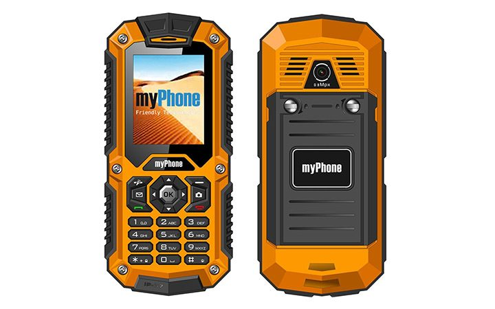 telefon rugged solid myphone hammer