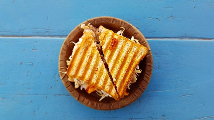 sandwich grill mancare