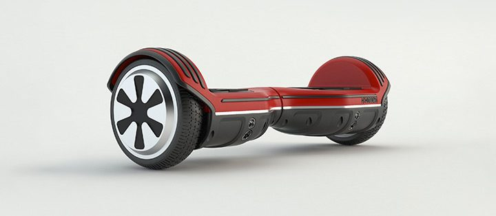 scuter electric cu auto balansare