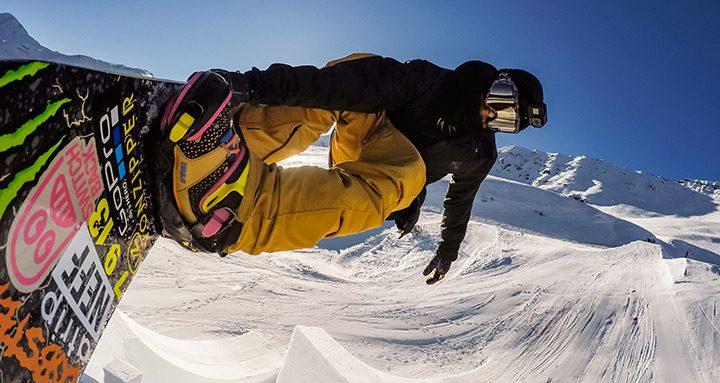 snowboarding camera video sport