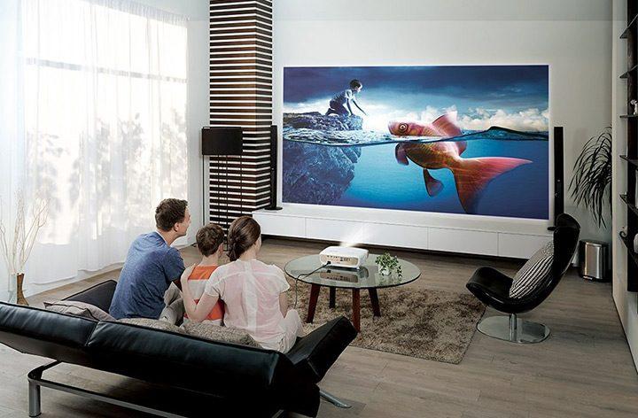 video proiector HD cu rezolutie mare