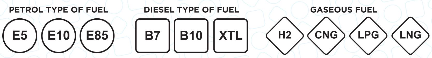etichete combustibili UE 2018