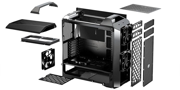carcasa de calculator cooler master