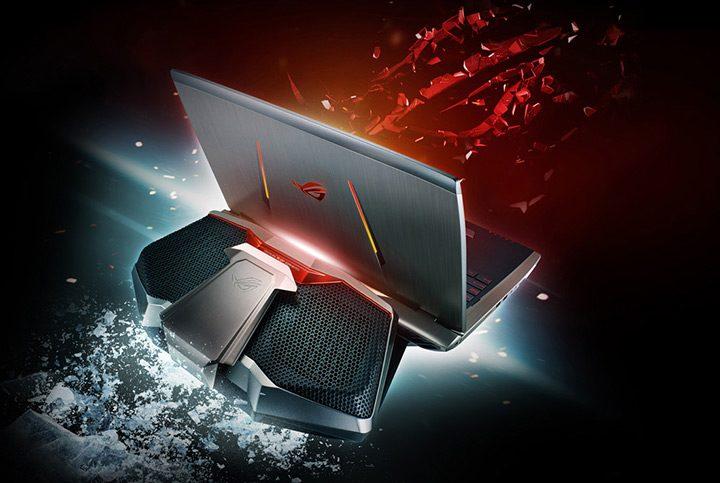 laptop de gaming cu racire pe apa