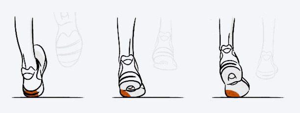 pronatie picior in timpul alergarii