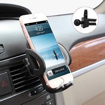 suport auto telefon pentru grila de ventilatie