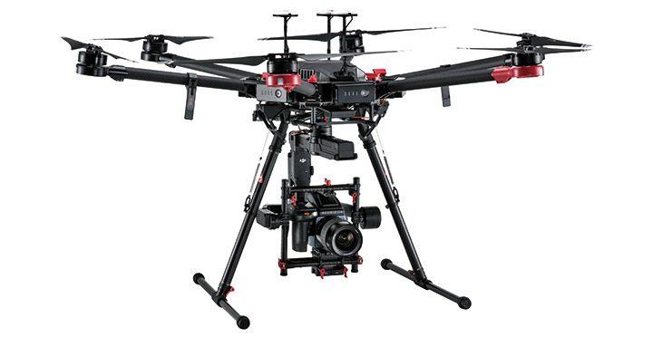 drona profesionala pentru productii video