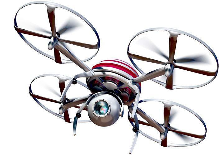 drone radio comandate