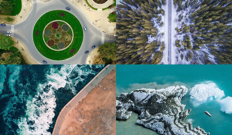 Exemple de fotografie aeriana cu drona